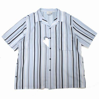 アンユーズド(UNUSED)のYOKE - Multi Stripe Open Collor Shirt(シャツ)