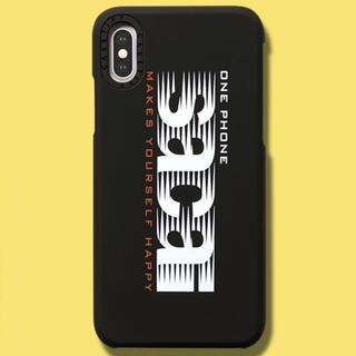サカイ(sacai)のsacai iPhone Xs Max ケース by CASETiFY 黒(iPhoneケース)