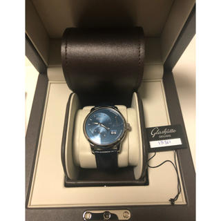 グラスヒュッテオリジナル(Glashutte Original)の【日曜までどこよりも安値】グラスヒュッテオリジナル パノリザーブ ブルー文字盤(腕時計(アナログ))