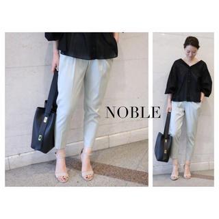 Noble - NOBLE Ten/Ny ツイルストレッチクロスタックパンツ
