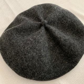 マーガレットハウエル(MARGARET HOWELL)のマチュア ハ ベレー帽(ハンチング/ベレー帽)