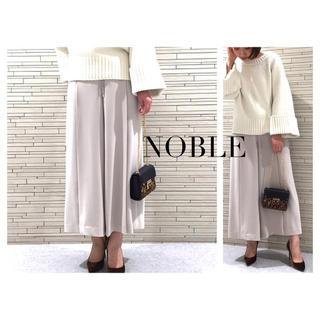 Noble - NOBLE ドロストギャザーパンツ