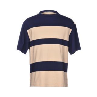 マルニ(Marni)のMARNIマルニメンズTシャツサイズ48 マルニボーダーシャツ(Tシャツ/カットソー(半袖/袖なし))