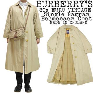 バーバリー(BURBERRY)の★BURBERRY★バーバリー★80s★一枚袖★ステンカラーコート★ライナー付き(ステンカラーコート)