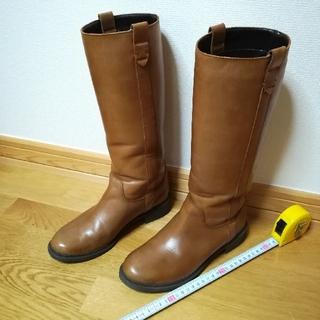 ベルメゾン - ✨ベネビス/ BENEBIS 本革ブーツ茶色23.0cm