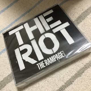 ザランページ(THE RAMPAGE)のTHE RIOT (CD+2Blu-ray) ローソンくじ付き(ポップス/ロック(邦楽))