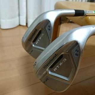 クリーブランドゴルフ(Cleveland Golf)のクリーブランド RTX-3 2本セット(クラブ)