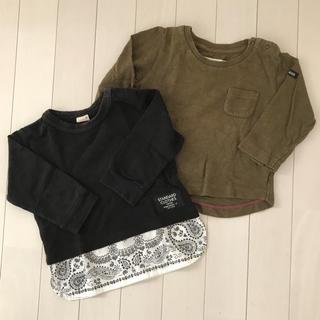 プティマイン(petit main)のプティマイン  ロンT 二枚セット (Tシャツ)