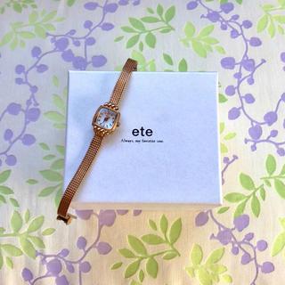 エテ(ete)のete    ㊳   腕時計・稼動品✨(腕時計)