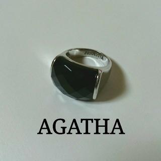 アガタ(AGATHA)のAGATHA オニキス リング(リング(指輪))