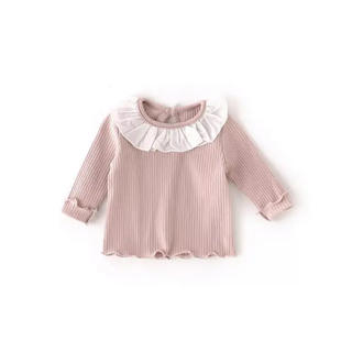プティマイン(petit main)のフリルシャツ(Tシャツ)