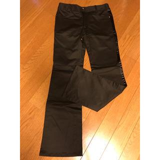 エル(ELLE)のELLE チノパン パンツ ズボン ブラック 黒(パンツ/スパッツ)