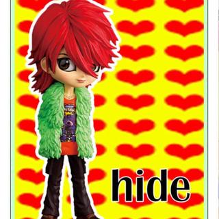 バンプレスト(BANPRESTO)のQposket hide フィギュア  X JAPAN  僕のヒーローアカデミア(ミュージシャン)