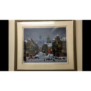 ミッシェル・ドラクロアの「ストラスブルグのクリスマス」(絵画/タペストリー)
