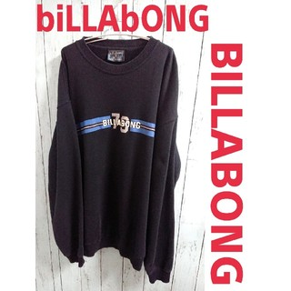 billabong - billabong ビラボング スウェット 紺 トレーナー ビッグサイズ 古着