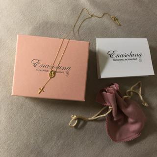 Enasoluna - enasoluna/Skinny mariamedaille necklace