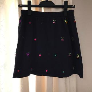 ニーナミュウ(Nina mew)の新品未使用 ニーナミュウ フルーツ ビジュー スカート(ミニスカート)