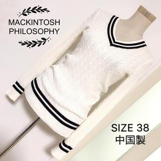 マッキントッシュフィロソフィー(MACKINTOSH PHILOSOPHY)のMACKINTOSH PHILOSOPHY ニット プルオーバー(ニット/セーター)