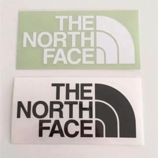 ザノースフェイス(THE NORTH FACE)のTHE NORTH FACE ノースフェイス TNF カッティングステッカー(ステッカー)