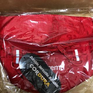 シュプリーム(Supreme)のsupreme  waist bag red 19ss ウエスト 込(ボディバッグ/ウエストポーチ)