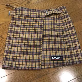 ユニフ(UNIF)のUNIF  スカート サイズXS(ミニスカート)
