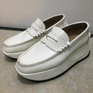 コムデギャルソン(COMME des GARCONS)のCOMMEdesGARCONS 厚底ローファー シャークソール ギャルソン 厚底(ローファー/革靴)