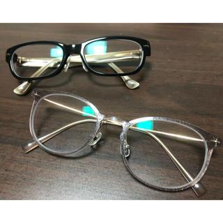 ゾフ(Zoff)のメガネ2本(サングラス/メガネ)