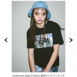 X-girl - X-girl  / エックスガール SHINY LOGO S/S BIG TEE