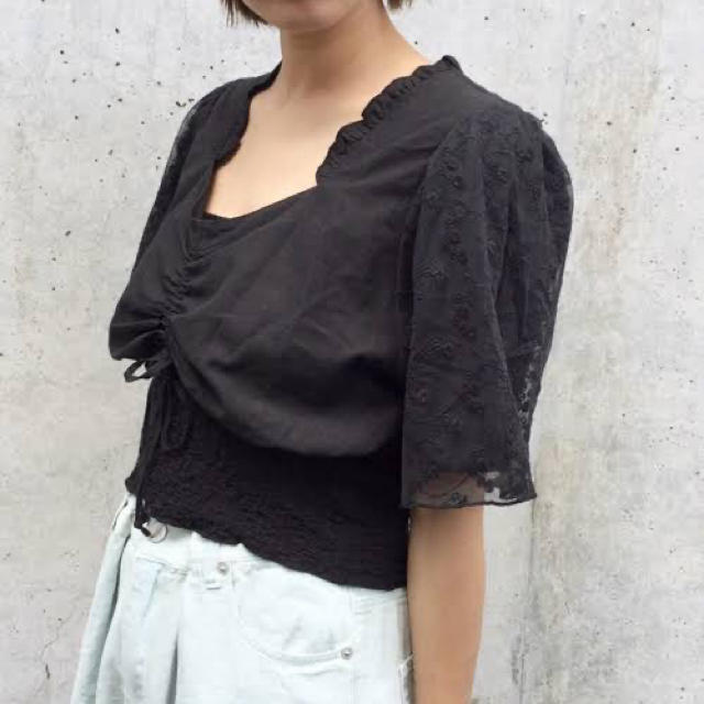 Kastane(カスタネ)のロマンティックブラウス レディースのトップス(シャツ/ブラウス(半袖/袖なし))の商品写真