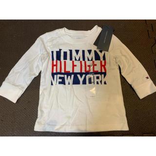 トミーヒルフィガー(TOMMY HILFIGER)のトミーヒルフィガー ロンT  12M 新品未使用、タグ付き (Tシャツ)