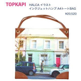 トプカピ(TOPKAPI)の*新品*A4サイズプリントトートBAG-TOPKAPI(トートバッグ)