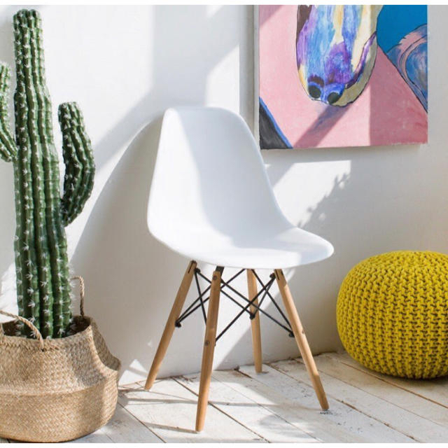 EAMES(イームズ)のイームズチェア  イームズ 椅子 シェルチェア ダイニングチェア おしゃれ インテリア/住まい/日用品の椅子/チェア(ダイニングチェア)の商品写真