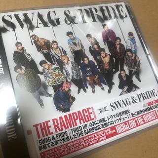 ザランページ(THE RAMPAGE)のSWAG & PRIDE  CD 新品未開封(ポップス/ロック(邦楽))
