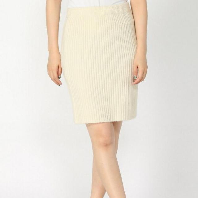 LOWRYS FARM(ローリーズファーム)のニットリブスカート レディースのスカート(ミニスカート)の商品写真