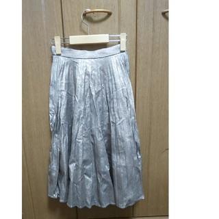 マウジー(moussy)の新品 MOUSSY マウジー プリーツロングスカート サイズ0(ロングスカート)
