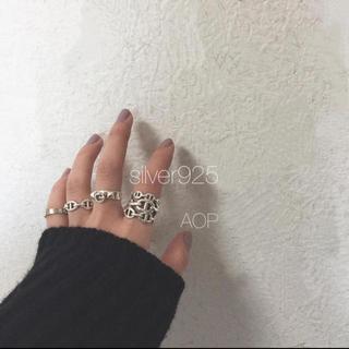 アレキサンダーマックイーン(Alexander McQueen)のMiyabi様  silver925 シェーヌダンクル1連(リング(指輪))