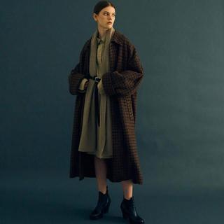 レア!YOKE ブラウンXS 19AW BAL COLLAR COAT コート(その他)