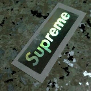 Supreme - ミニ≪正規品≫Supreme ステッカー ホログラム  BOX サイドロゴ