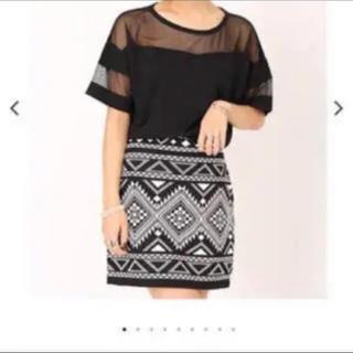 アンビー(ENVYM)のネイティブ型スカート(ミニスカート)