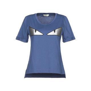 フェンディ(FENDI)の新品☆FENDI バッグバグズ Tシャツ ブルー(Tシャツ(半袖/袖なし))