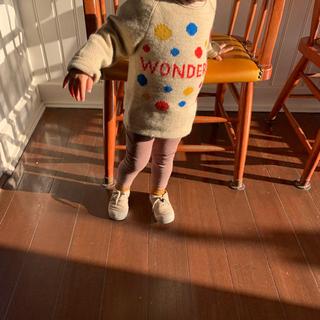 キャラメルベビー&チャイルド(Caramel baby&child )のoeuf セーター 3y caramel(ニット)