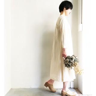ヤエカ(YAECA)のYAEKA WRITEドレスお値下げ致しました(ロングワンピース/マキシワンピース)
