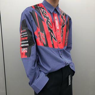 Balenciaga - VETEMENTS レーシングシャツ