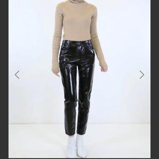 ルシェルブルー(LE CIEL BLEU)のIRENE  patent leather pants(その他)