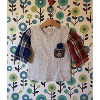 プティマイン(petit main)のpetitmain 80(Tシャツ)