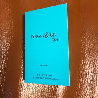 ティファニー(Tiffany & Co.)のティファニー 新作 香水 Tiffany & love メンズ 日本未発売 (香水(男性用))