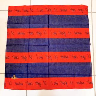 ヴィヴィアンウエストウッド(Vivienne Westwood)のヴィヴィアンウエストウッド バンダナ FNO2019限定(バンダナ/スカーフ)