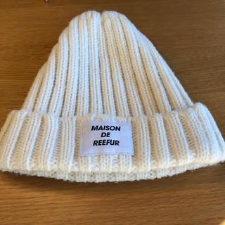 メゾンドリーファー(Maison de Reefur)の【ご予約済】メゾン・ド・リーファー ニット帽(帽子)