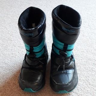 ムーンスター(MOONSTAR )の【 バネのチカラ】 スノーブーツ 16㎝(ブーツ)