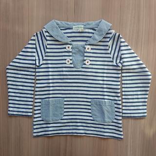 サンカンシオン(3can4on)の*3can4on セーラーカラー長袖Tシャツ*(Tシャツ/カットソー)